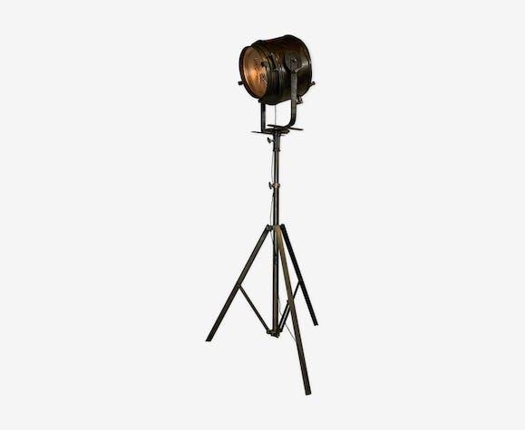 Ancien projecteur industriel Cremer 2K 1950
