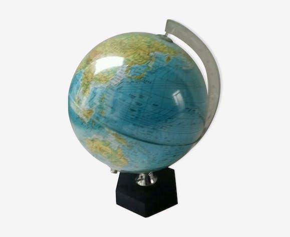 lampe globe terrestre mappemonde design vintage ann es 60. Black Bedroom Furniture Sets. Home Design Ideas