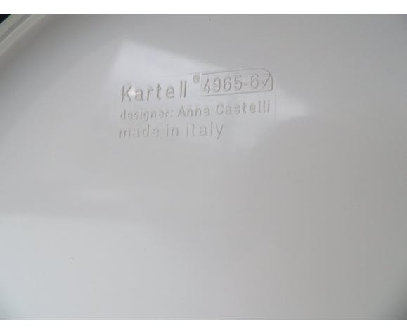 Table d'appoint Kartell par Anna Castelli