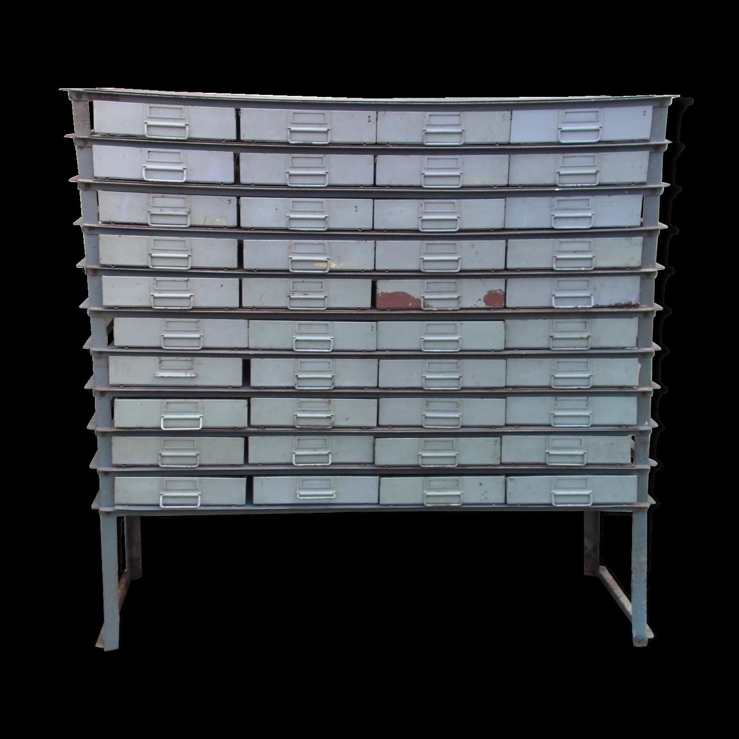 Meuble casier metal top ego design meuble haut casier for Becquet banc