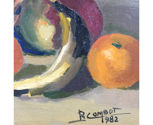 Tableau corbeille de fruits