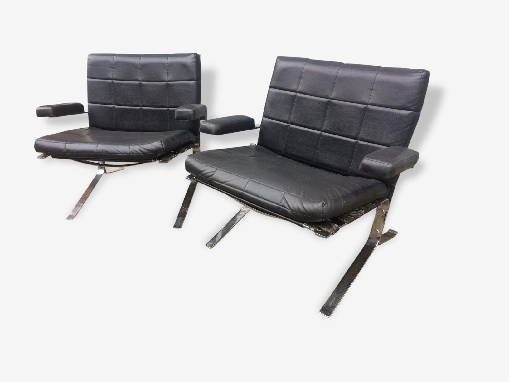 Paire de fauteuils joker  Olivier Mourgues