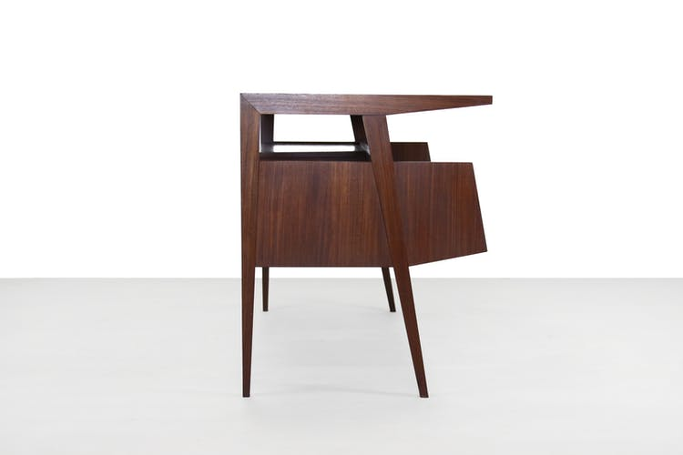 Vintage teak desk, 1960's