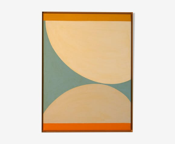 Peinture sur toile 30X40cm, tableau abstrait