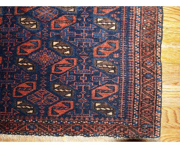 Tapis ancien Afghan Baluch 1880