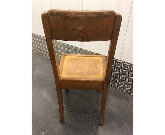 Chaise d'enfant années 50