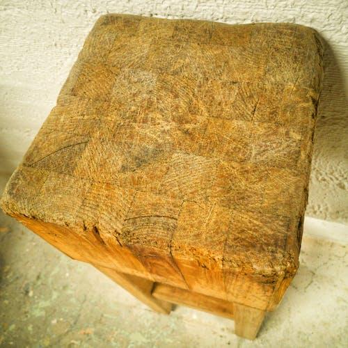 Ancien billot de boucher