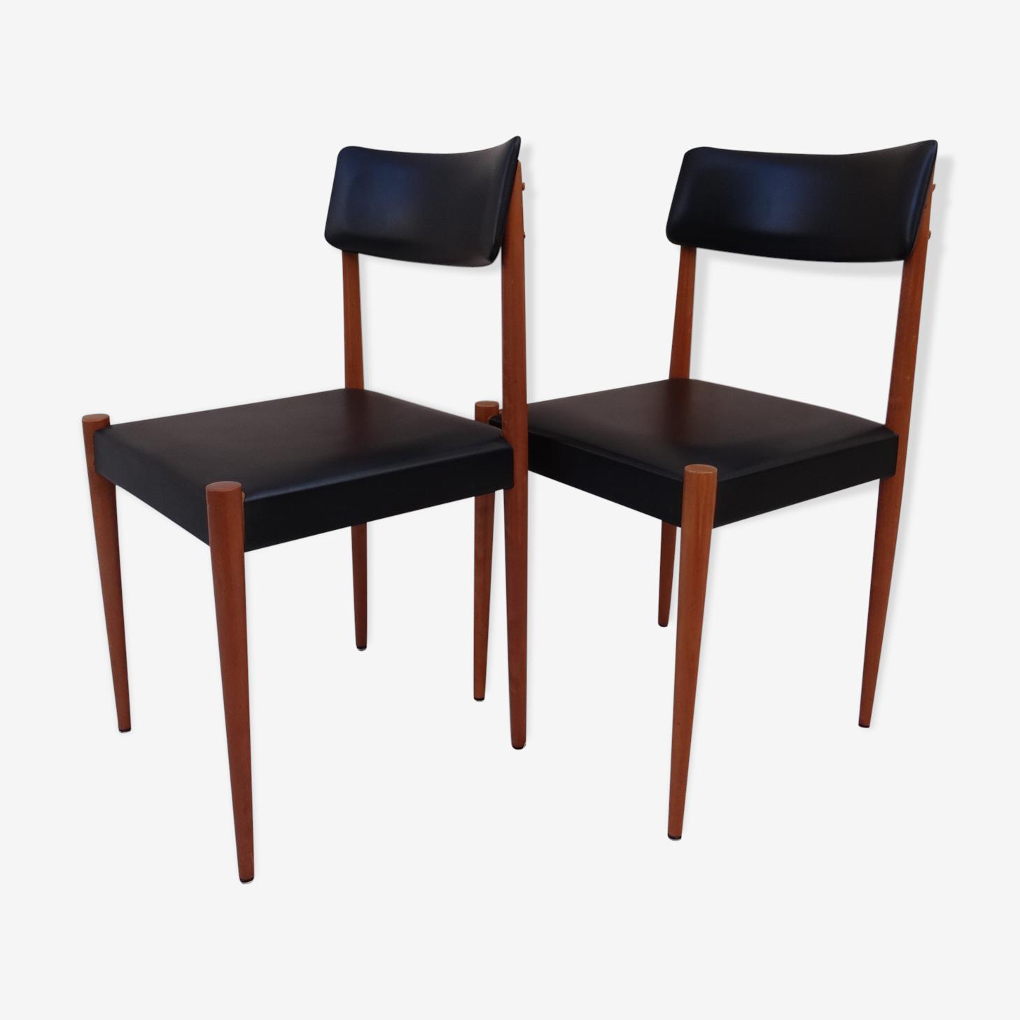 Scandinavian chairs 50/60