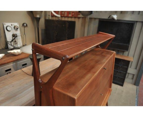 Buffet Furniture Mahogany Bar By Louis