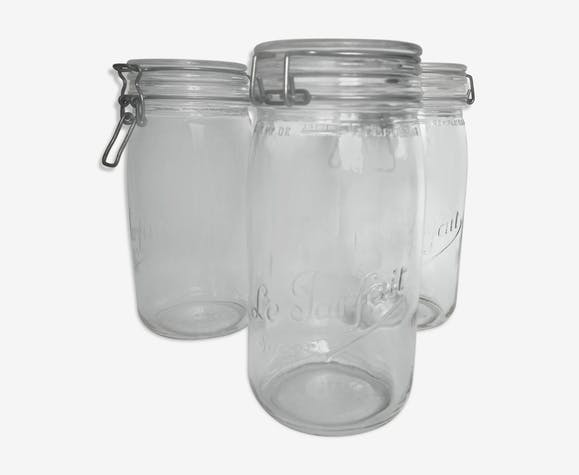"Trio of jars ""the perfect"" 1.5 l"