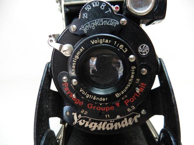 Appareil photo Voigtlander 1:63 Braunschweig Bessa