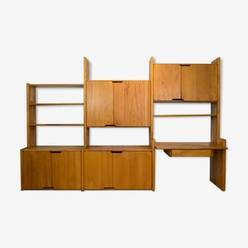 """Bookcase """"GO"""" by Pierre Chapo for Seltz, 1970s"""