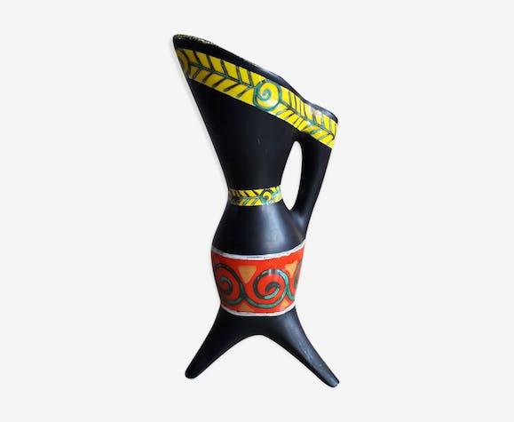 Vase tripode années 50