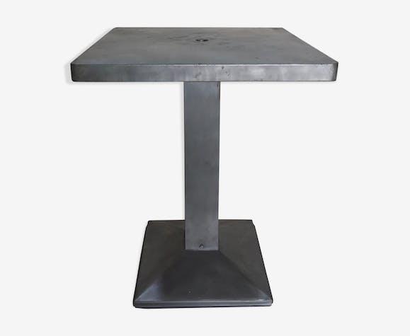 "Table de bistrot Tolix ""mini cube"""