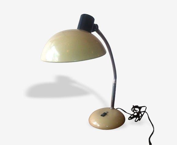 Lampe Beige Rc4ajl53qs Métal 1950 De Et Bureau Chrome Marron PiZukXTO