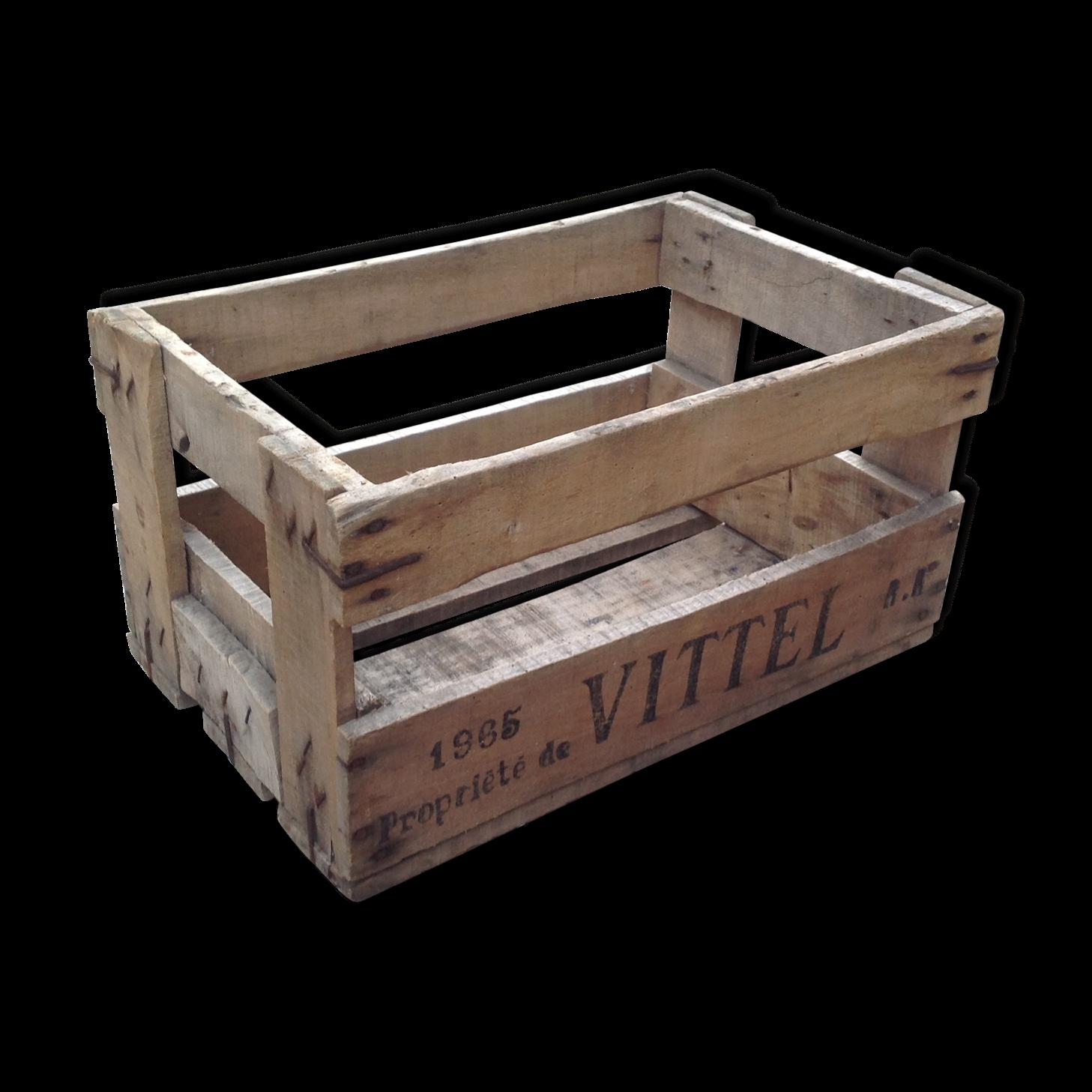 Table basse avec des caisses en bois - Fabriquer caisse en bois ...