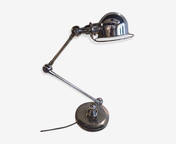 lampe jld - fer - argent (couleur) - industriel - 3huwitn