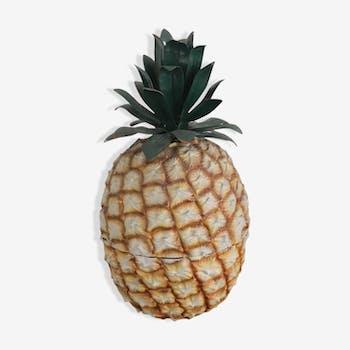 Seau à glaçons ananas Fauchon années 80