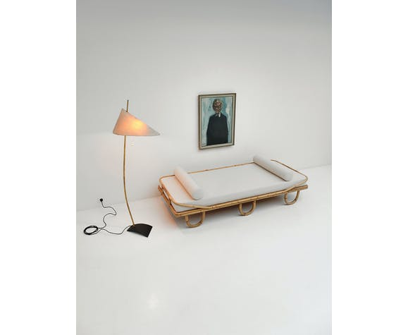 Daybed rotin  1960