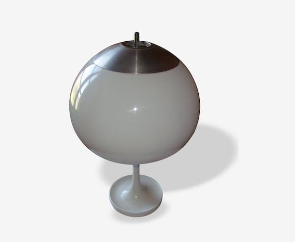 lampe champignon d sign panthella de verner panton plastique blanc vintage 9144. Black Bedroom Furniture Sets. Home Design Ideas