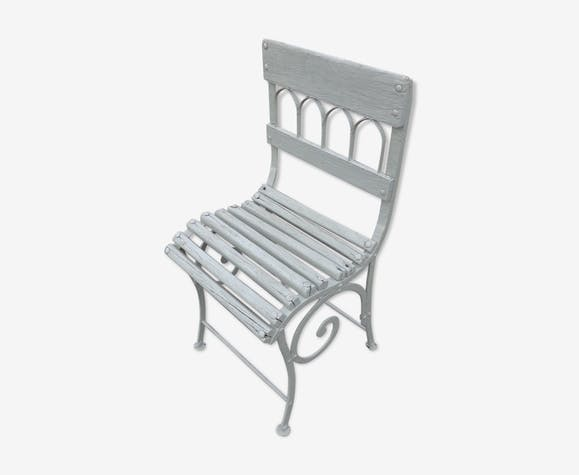 Chaise Mtal De Jardin XIXme