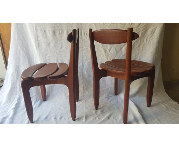Set de 6 chaises Modele Thierry Guillerme et Chambron