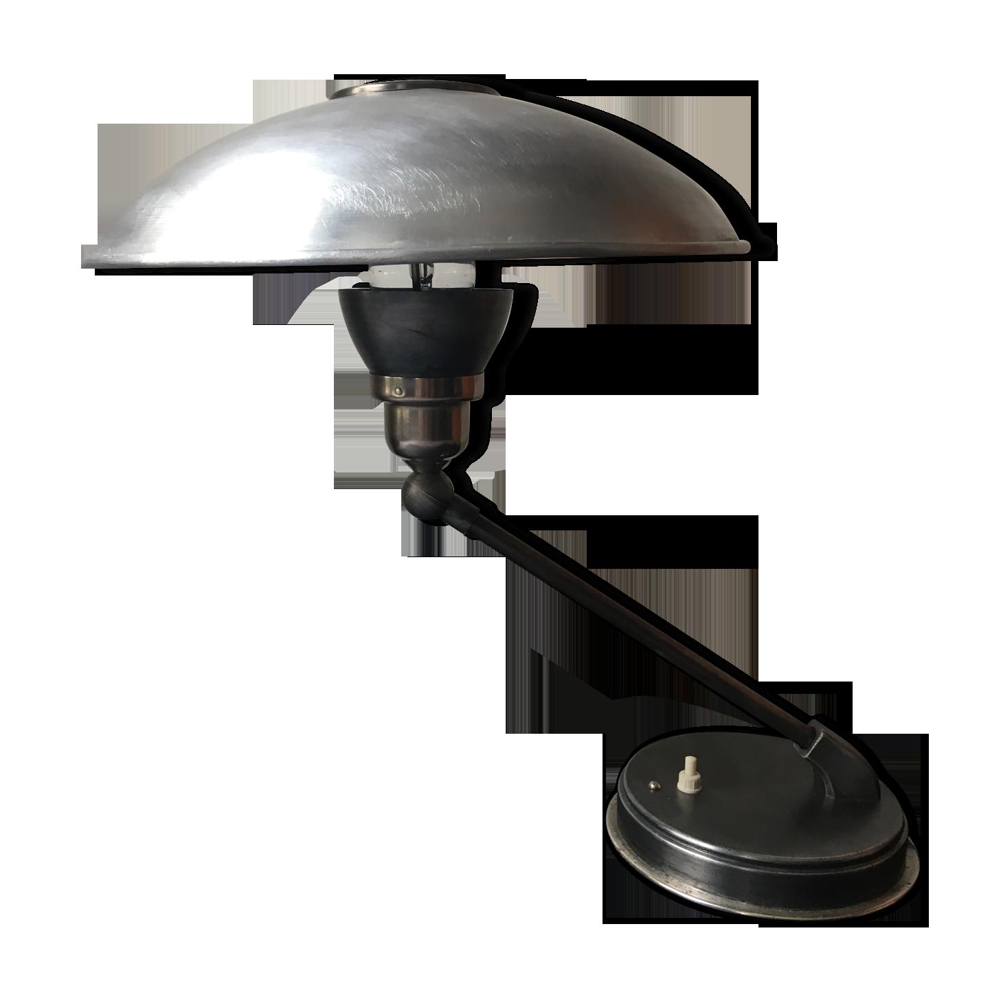 Ancienne lampe de bureau industrielle sovietique cccp métal