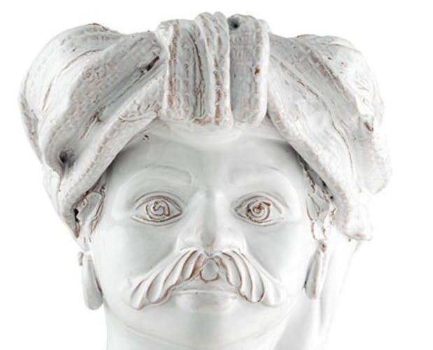 Vase tête moyenne blanche