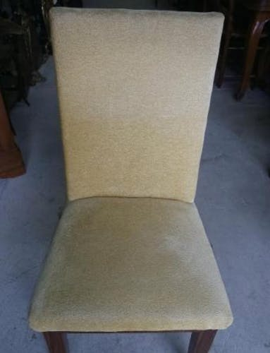 Serie de 6 chaises art deco 1930 en palissandre
