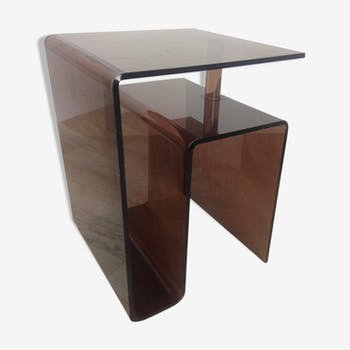 Table en plexiglas vintage d 39 occasion for Canape annee 70