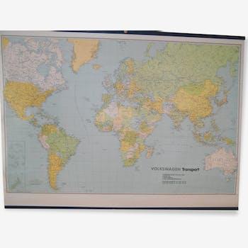 Map monde volkwagen