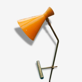 Desk lamp to counterbalance in the style of Italian creations of the 1950s