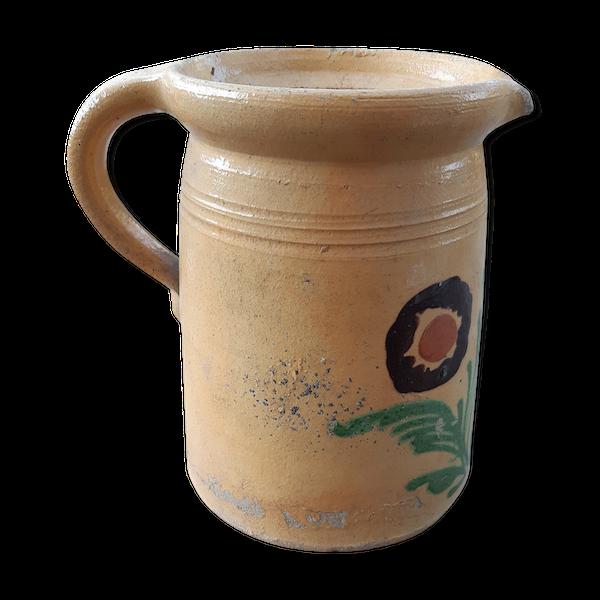 Cruche terre cuite début XXème