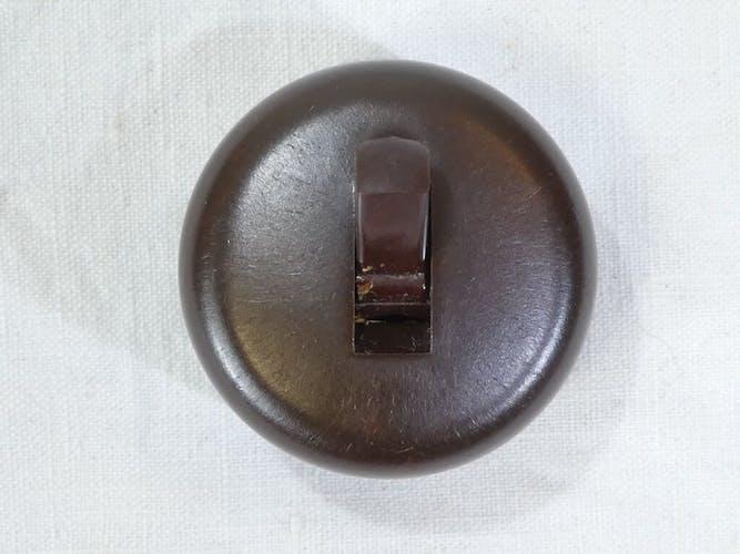 Interrupteurs en bakelite vintage
