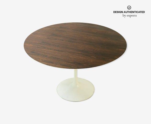 Tulip table in Palissandre by Eero Saarinen for Knoll