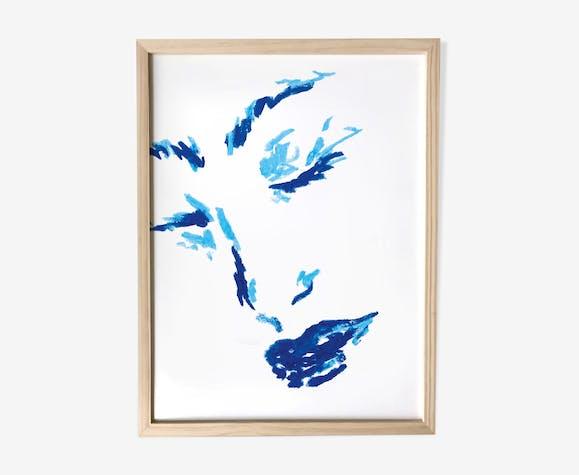 """Illustration """"pastel portait #5"""""""