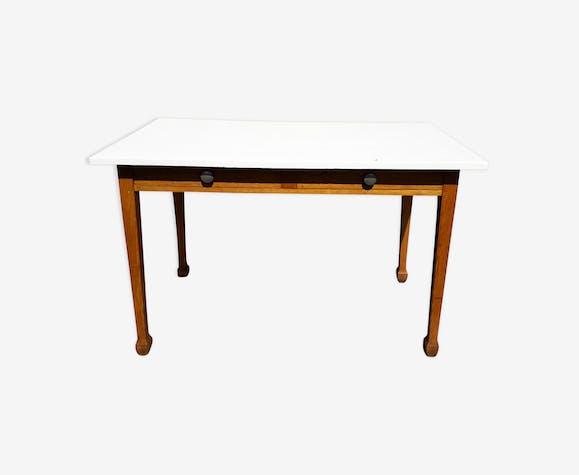 Table en chêne années 50