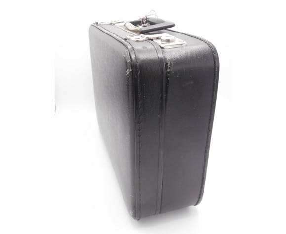 Old suitcase of toilet