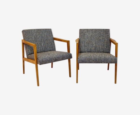 Paire de fauteuils scandinaves années 50