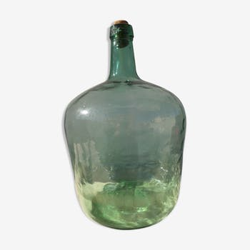 Green 10 liters demijohn