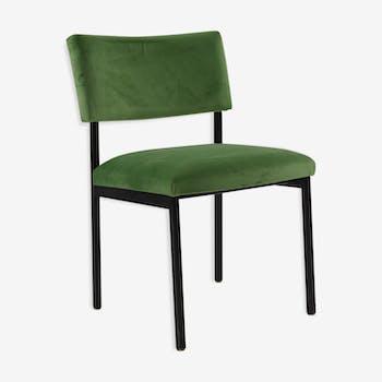 70's velvet chair