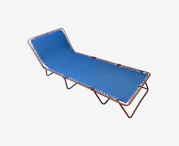 Transat relax chaise longue pliante Lafuma Chantazur an 60 vintage
