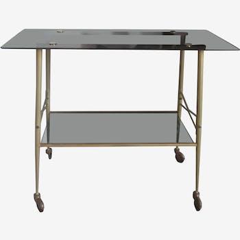 Vintage serving table 50