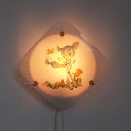 Lampe applique vintage chambre enfant