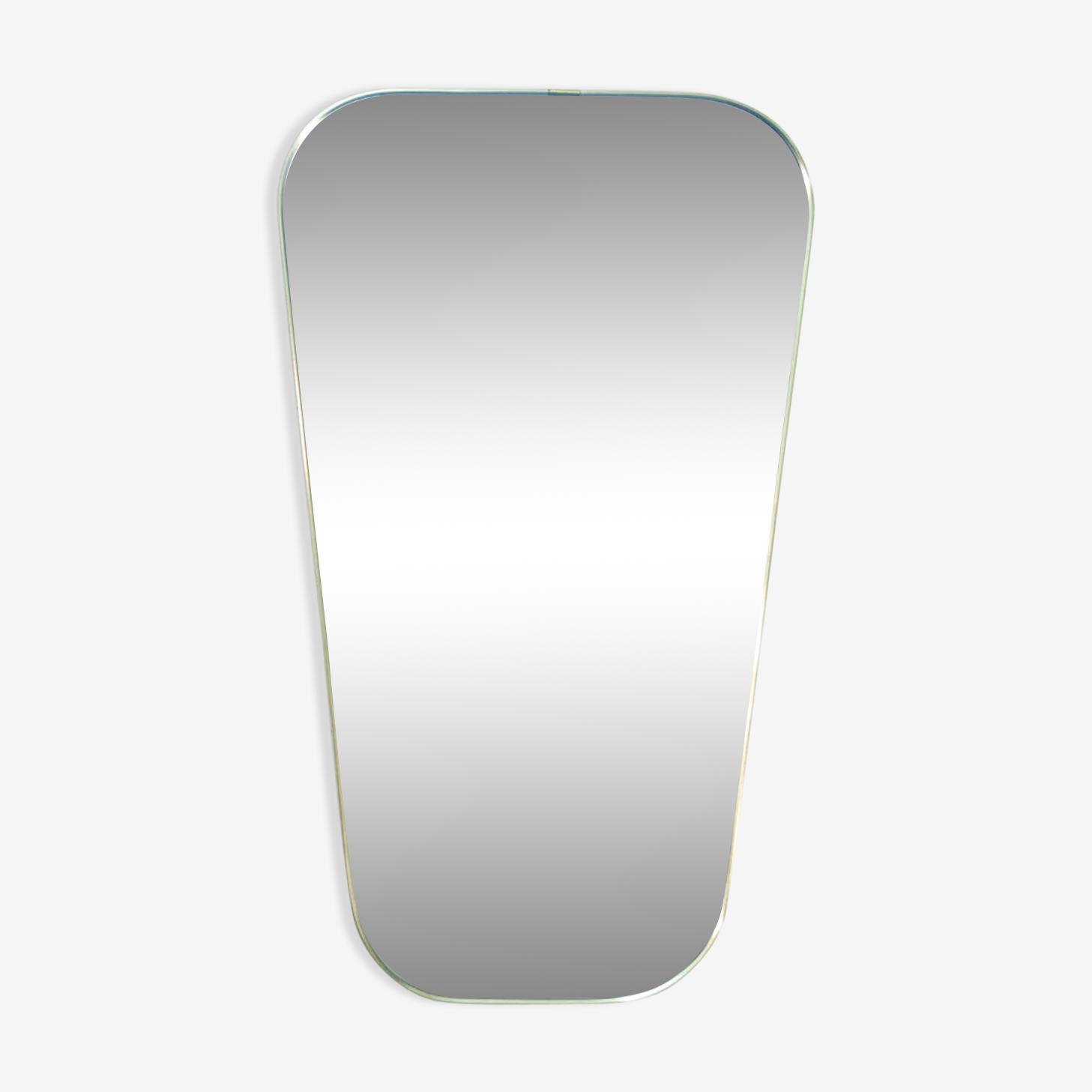Golden brass mirror 59x38cm