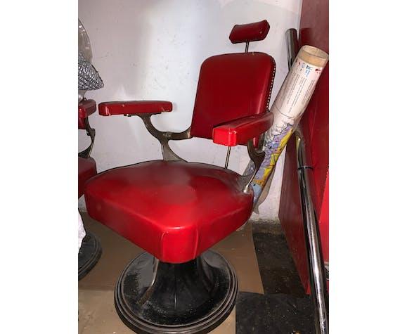 Fauteuil de coiffeur barbier bahaus 1930