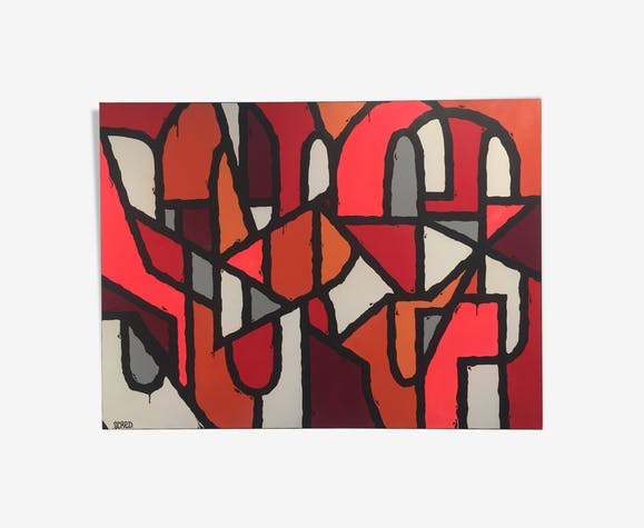 Oeuvres d'art graffiti peinture par Scred