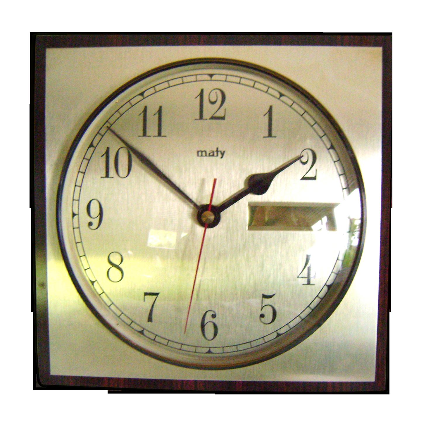 Horloge De Bureau Originale art déco bureau horloge - cheminée soviétique horloge - rare