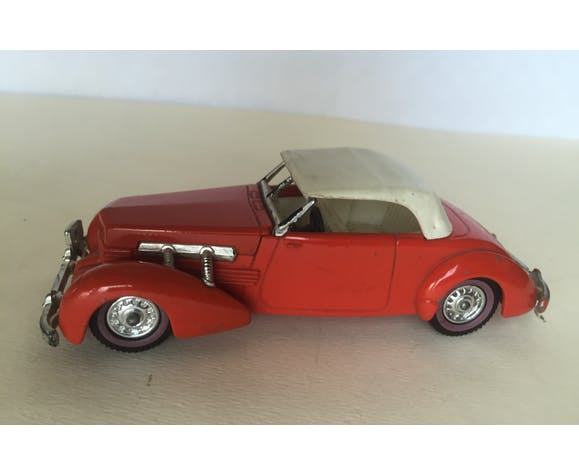 Ancient miniature metal car