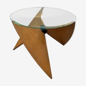 Table basse hélice des années 50